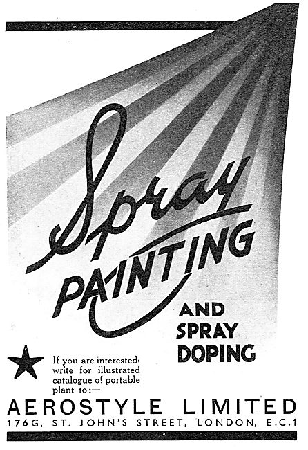 Aerostyle Spray Painting & Aircraft Spray Doping
