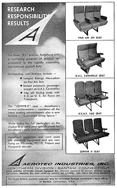 Aerotec  Aircraft Seats