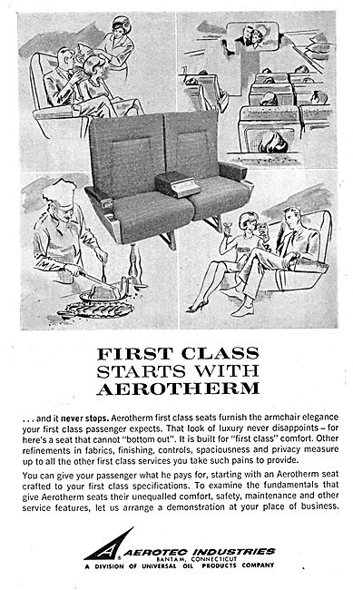 Aerotec Industries - Aerotherm Aircraft Seating
