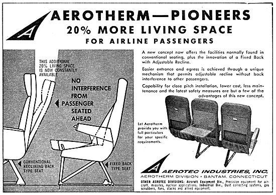 Aerotec Aerotherm Cabin Seating