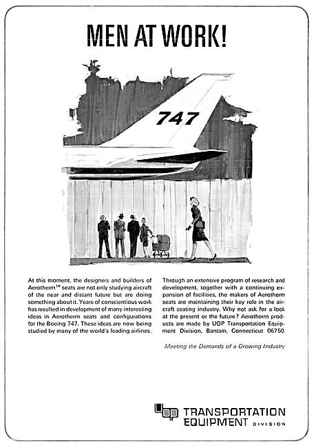 Aerotherm Aircraft Seats