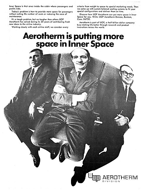 UOP Aerotherm Cabin Seating
