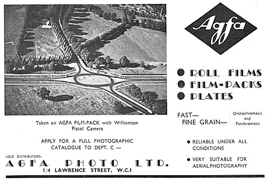 Agfa Aerial Photography Film & Equipment