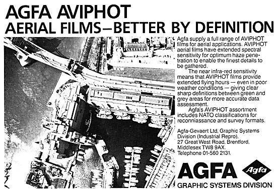 Agfa AVIPHOT Aerial Photography Film