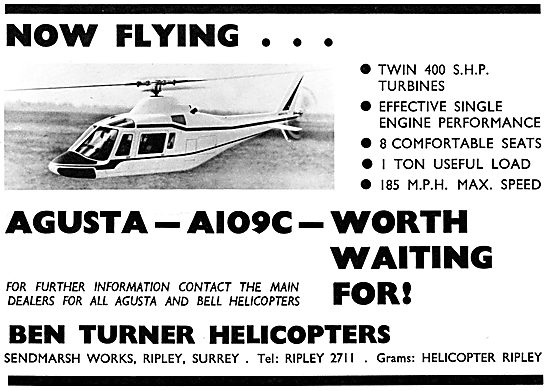 Bell Agusta A109C - Ben Turner Helicopters