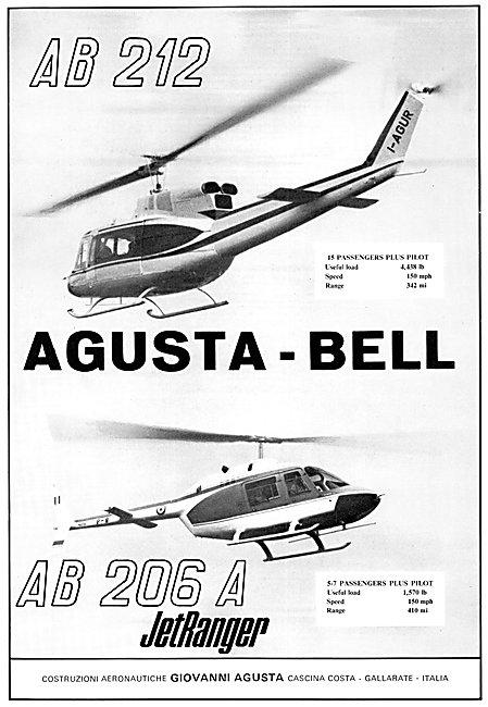 Agusta Bell 206A Jet Ranger - Agusta Bell 212