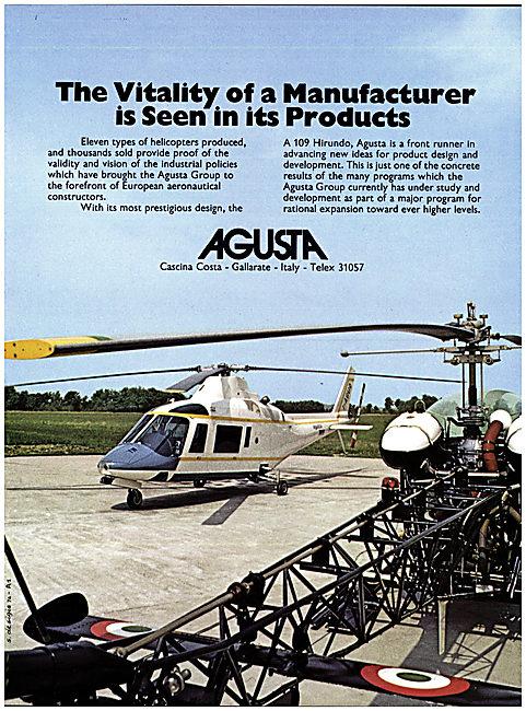 Agusta Bell A 109 Hirundo