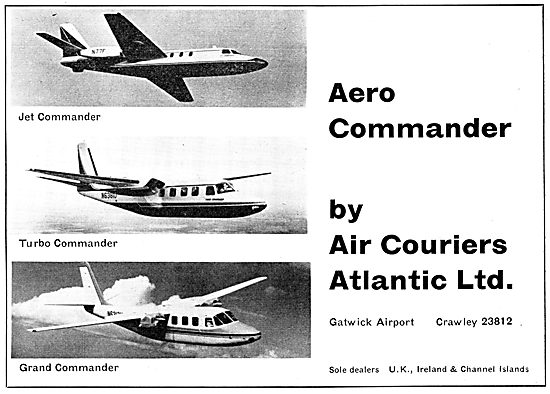Air Couriers - Aero Commander