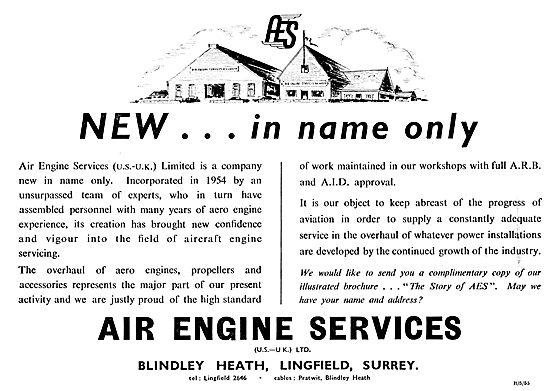 Air Engine Services - Aero Engine Overhauls