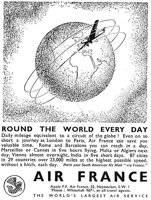 Air France - Round The World Every Day