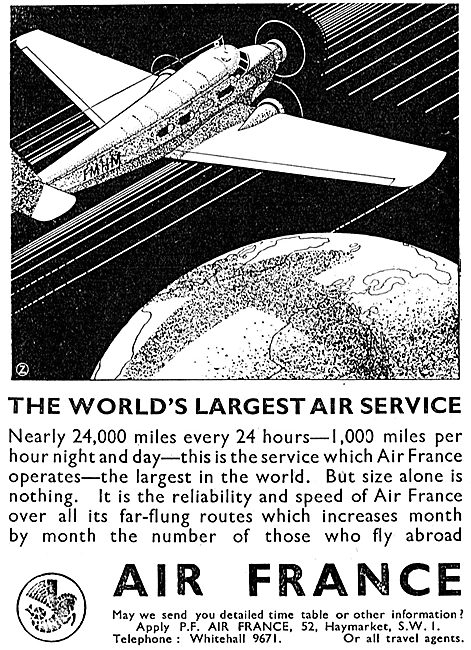 Air France - The World's Largest Air Service