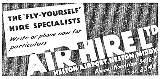 Air Hire Heston - The Fly Yourself Specialists