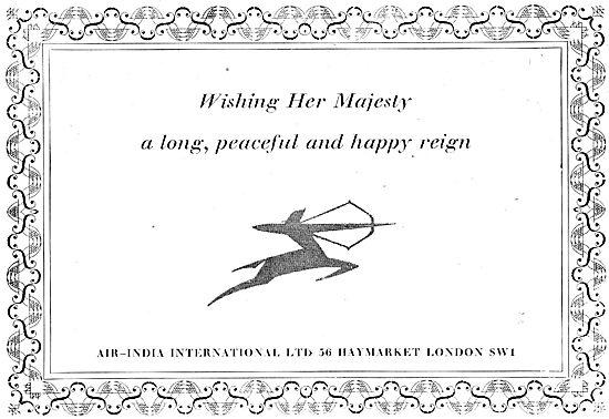 Air-India - Coronation Message