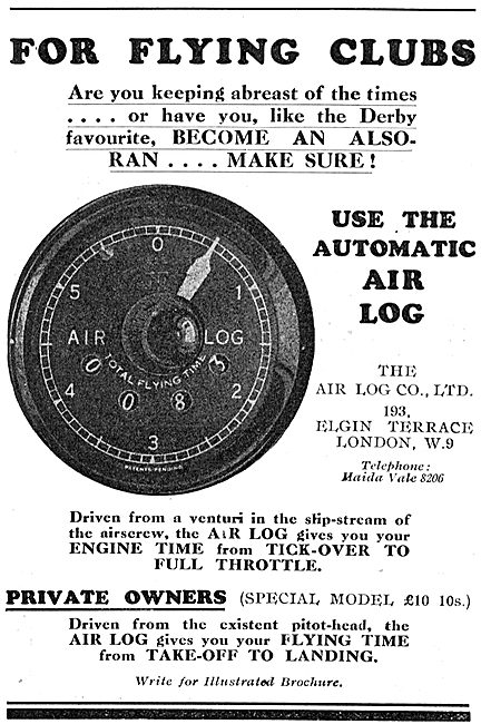 Air Log For Flying Clubs