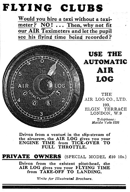 Air Log For Private Owners