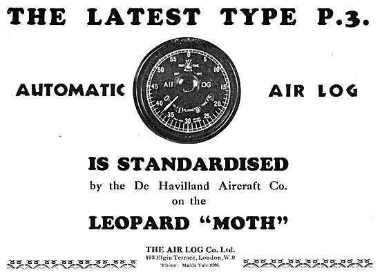 Air Log P3 Type 1933