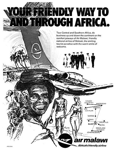 Air Malawi - 1978 Advert