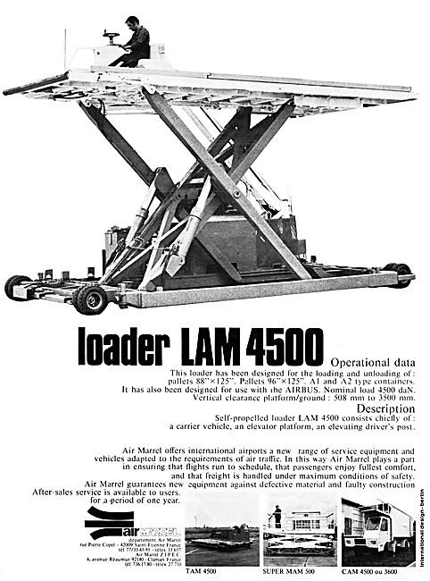 Air Marrel Loader LAM 4500 - Air Marrel Ground Handling Equipment