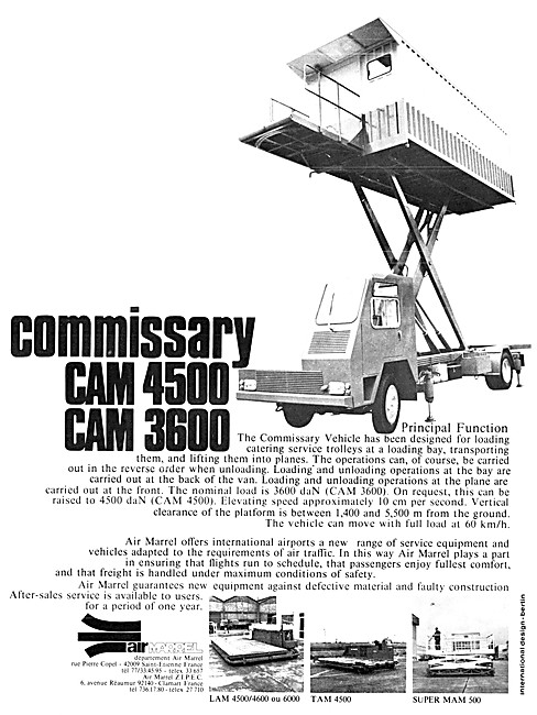 Air Marrel CAM 4500 Commissary Vehicle