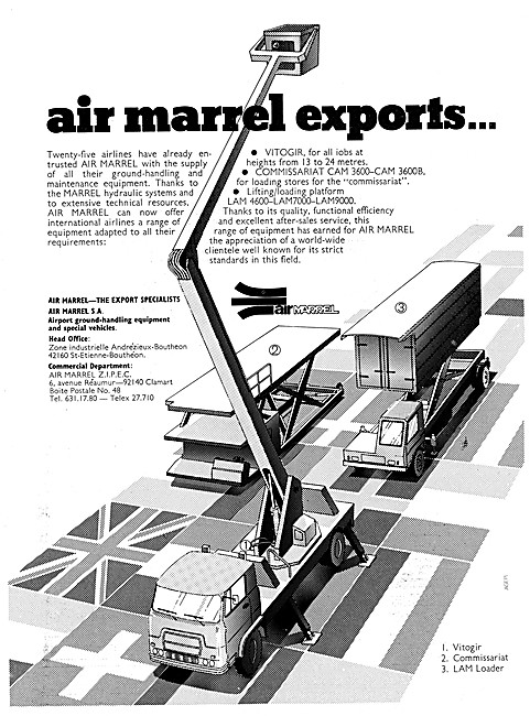 Air Marrel Ground Handling & Maintenance Equipment. VITIGOR