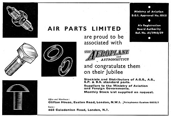 Air Parts Ltd - AGS, AS,SP & BS Standard Parts For Aircraft