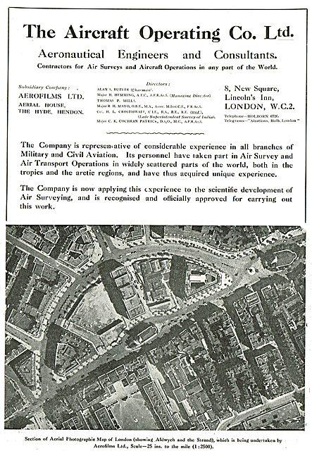 The Aircraft Operating Company - Air Survey