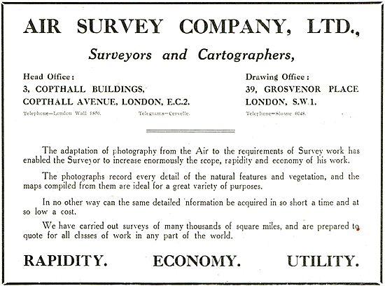 The Air Survey Company - Surveyors & Cartographers