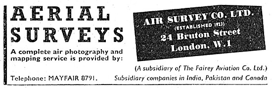 Air Survey Group Of Companies - Aerial Surveys