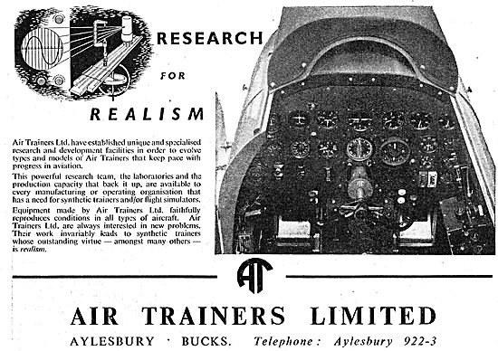 Air Trainers. Aylesbury. New & Reconditioned Link Trainers