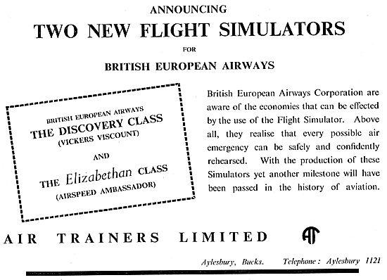 Air Trainers Flight Simulators & Procedure Trainers