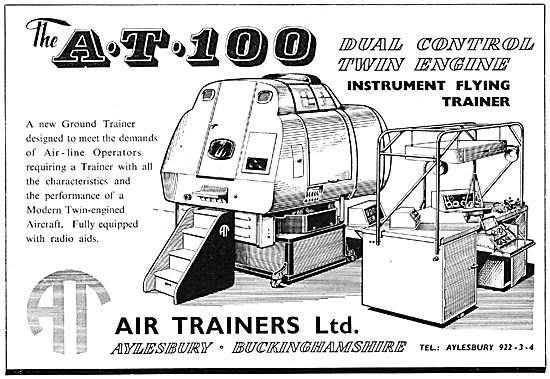 Air Trainers AT 100 Dual Control Instrument Flying Trainer