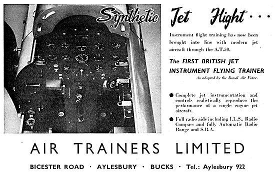 Air Trainers AT50 Jet Flight Simulator