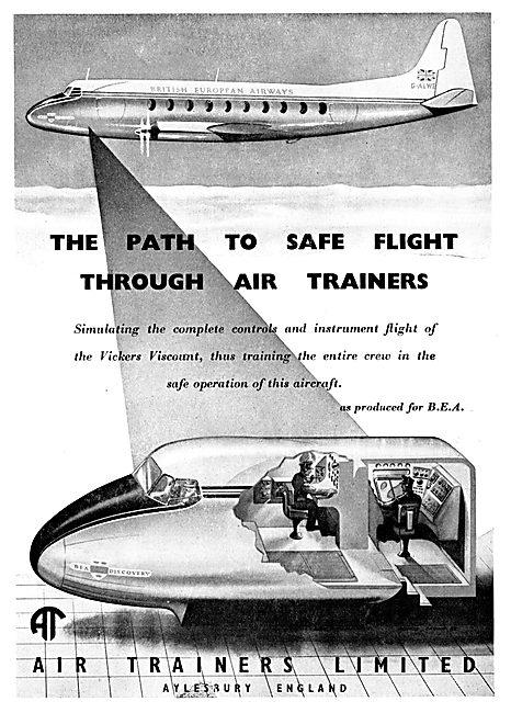 Air Trainers Viscount Flight Simulator