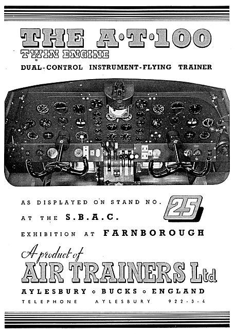 Air Trainers Flight Simulators 1953
