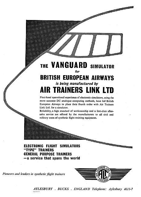 Air Trainers - Vanguard Simulator For BEA