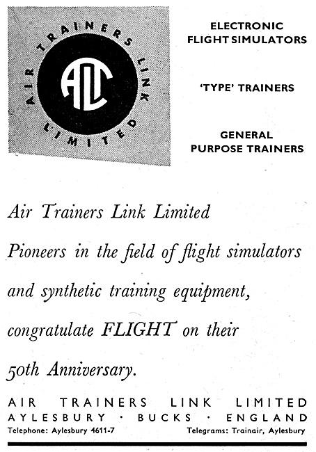 Air Trainers Link Flight Simulators 1959
