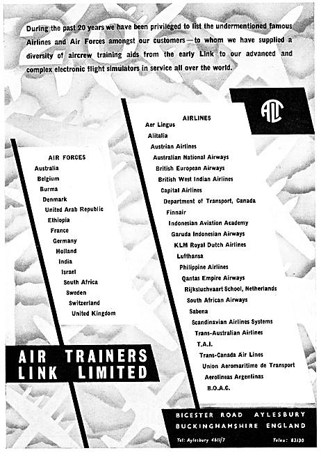 Air Trainers Link Flight Simulators