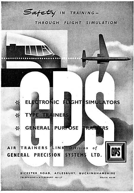 Air Trainers Link Type Trainers & Electronic Flight Simulation