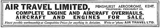 Air Travel Ltd - Aircraft Sales, Hire & Charter