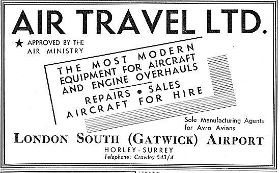 Air Travel Gatwick - Aircraft Maintenance Sales, Hire & Charter