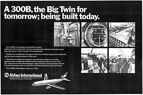 Airbus A300B 1970 Advert