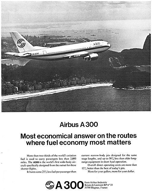 Airbus A300 1974