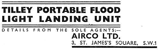 Airco - Tilley Portable Flood Light Landing Unit