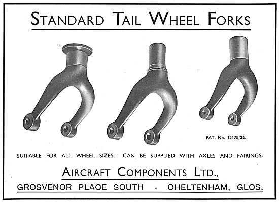 Aircraft Components Co - Aircraft Tail Wheel  Assemblies