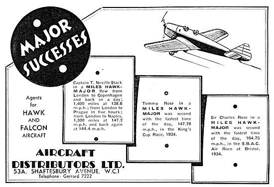 Aircraft Distributors Ltd ; Miles Hawk