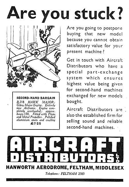 Aircraft Distributors Ltd - Second Hand Aircraft Listings