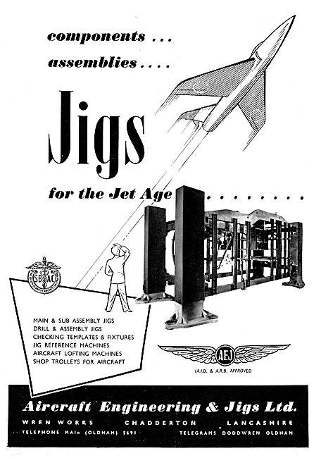 Aircraft Engineering & Jigs Ltd: Assembly Jigs & Templates