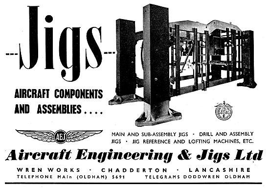 Aircraft Engineering & Jigs Ltd: Aircraft Assembly Jigs