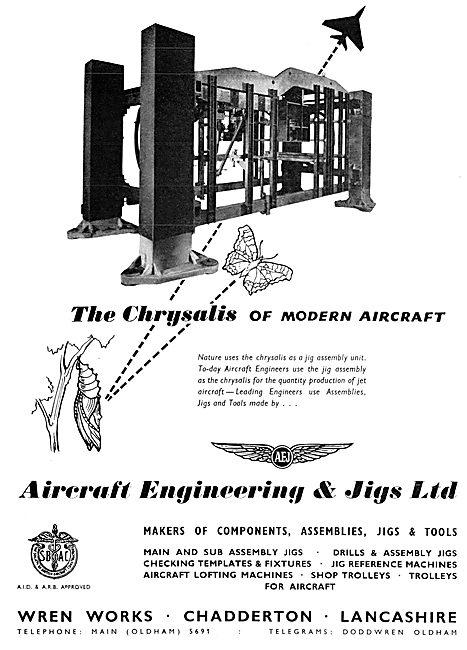 Aircraft Engineering & Jigs. Jigs, Tools & Assemblies
