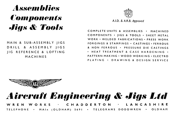Aircraft Engineering & Jigs